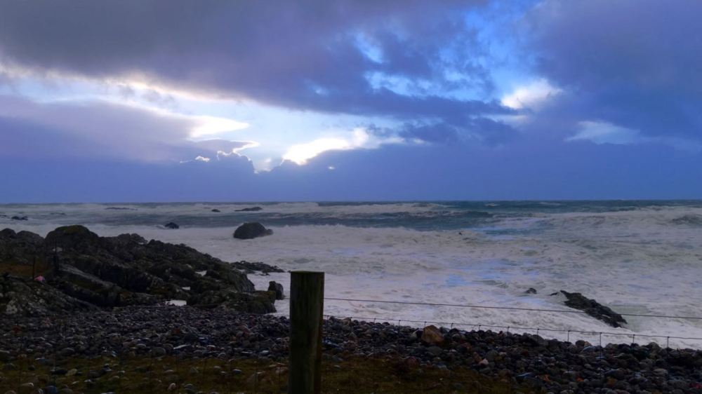 Dramatic Skies over West Hynish