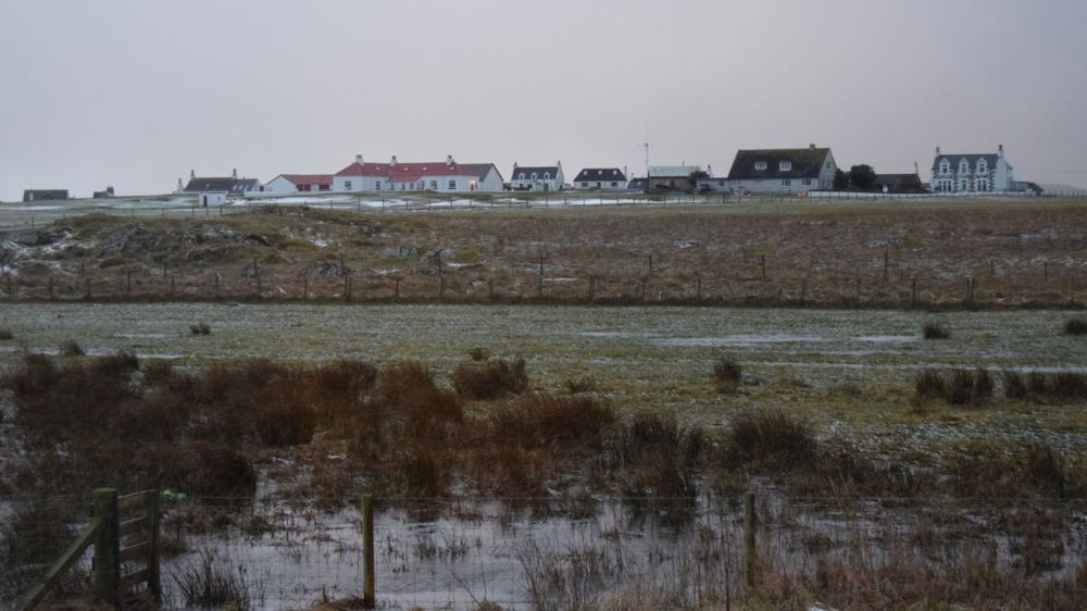 Snow on the Machair