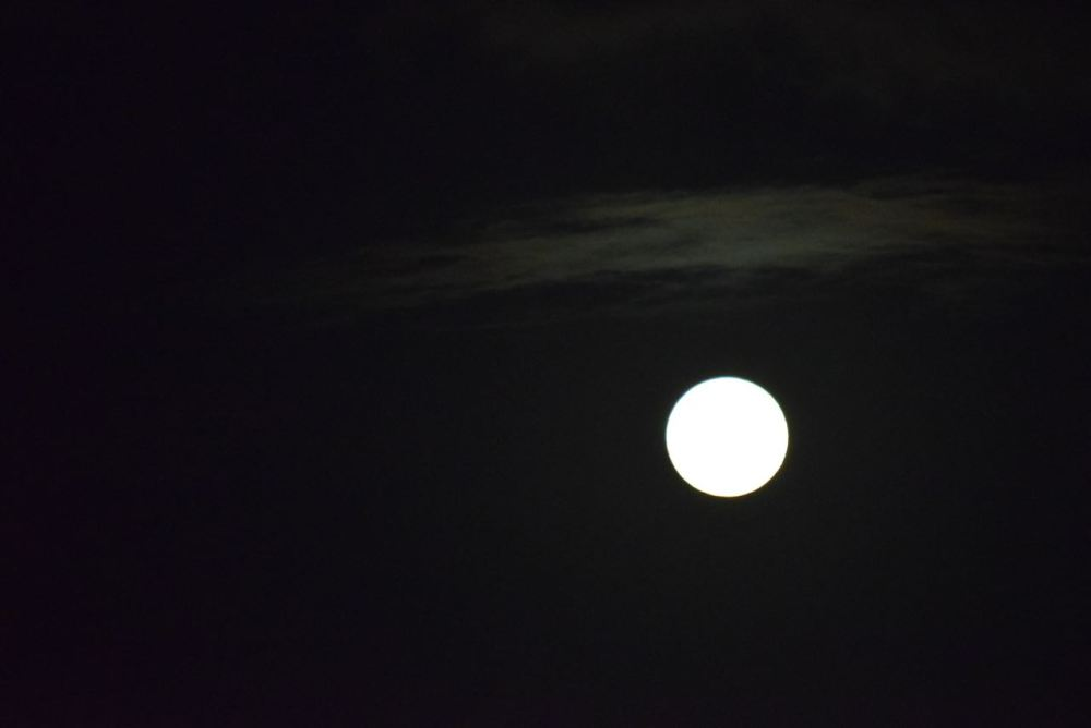 First attempt at capturing the Lenten Full Moon