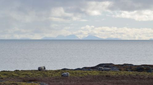 Paps of Jura from Scarinish