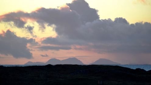 The Paps of Jura at first light