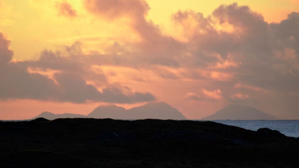 The Paps of Jura at Sunrise