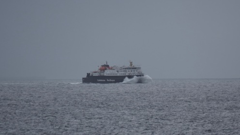 MV Clansman in Gott Bay