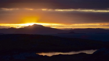 Sunrise over Ben More