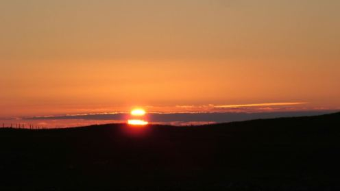 Sunset over Tiree