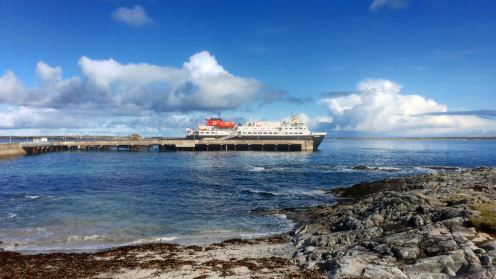 MV Clansman at the Pier, Scarinish, Isle of Tiree