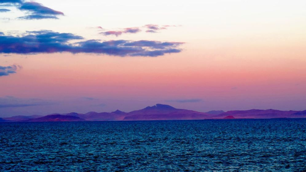 Looking East to Mull