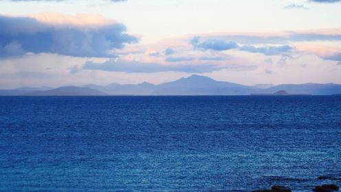 Looking East towards Mull