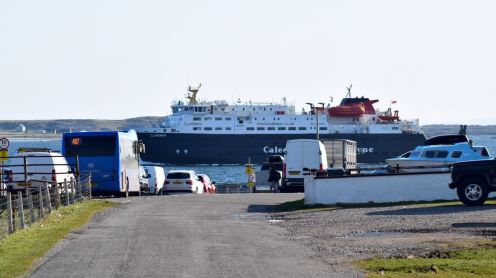 MV Clansman - Scarinish