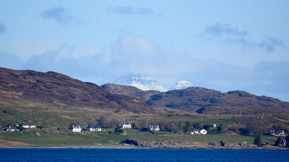 Kilchoan and the the Rum Cuillin