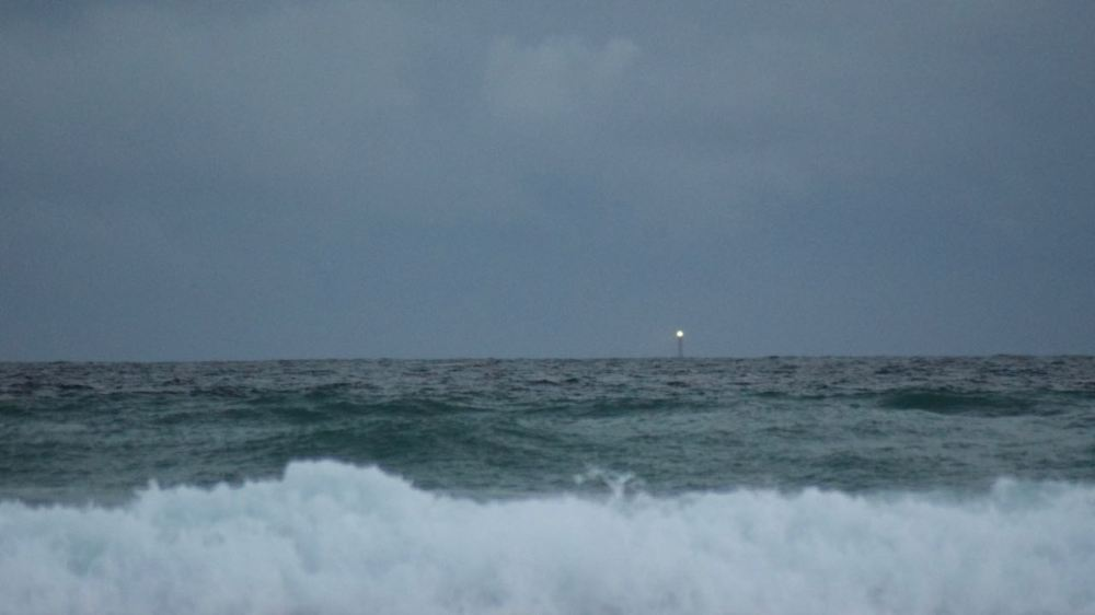 Skerryvore Lighthouse some 12 miles distant