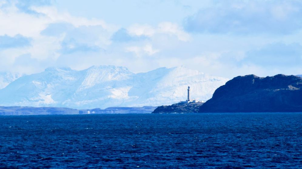 The Lighthouse and the Isle of Rum