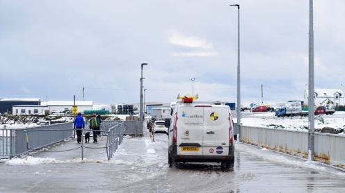 Welcome to a snowy Tiree