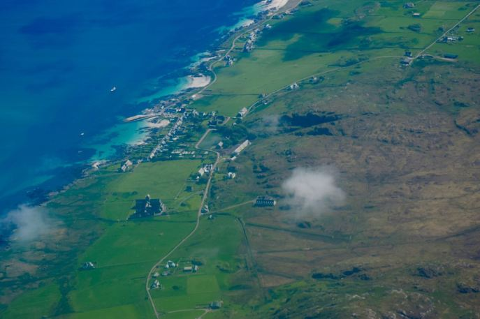 View of Iona and Abbey