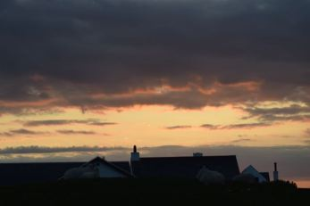 Sunset over Scarinish