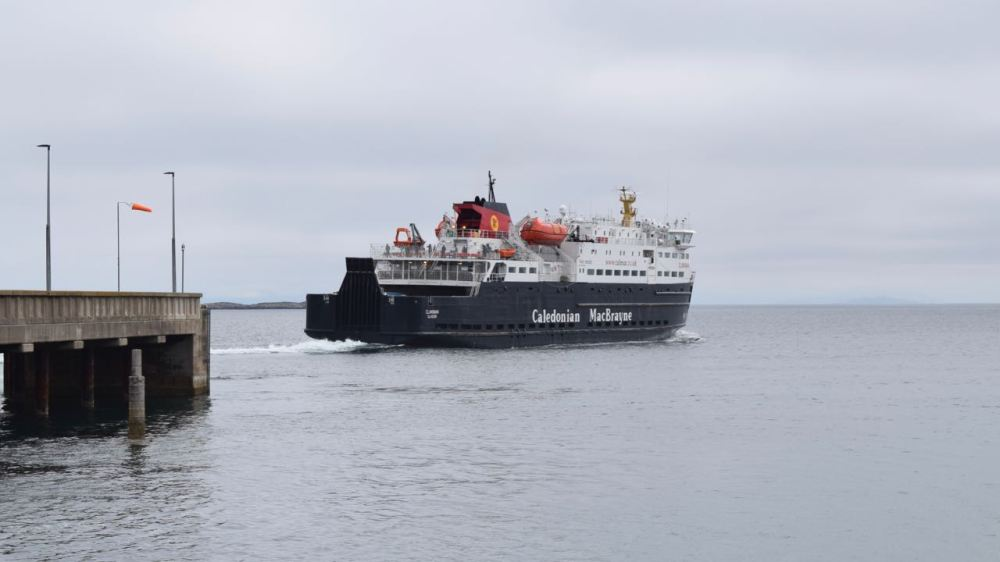 MV Clansman sails direct for Oban with an arrival time of 14:50