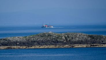 A last glimpse in Hebridean waters - from Caolas
