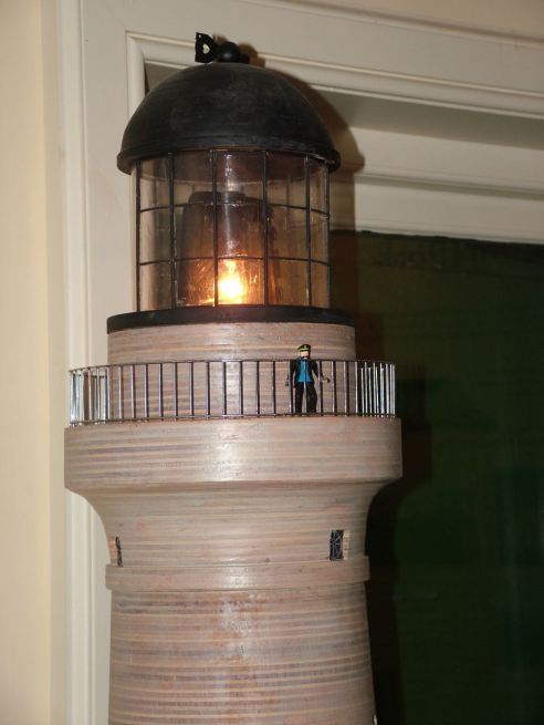Model of Skerryvore Lighthouse