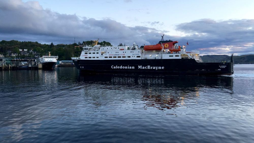 Oban - the point of departure for many of the Hebridean Islands including Coll and Tiree