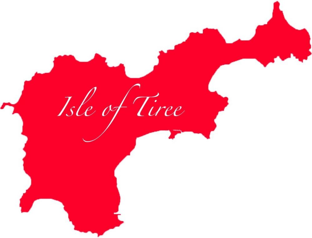 Tiree Map Logo