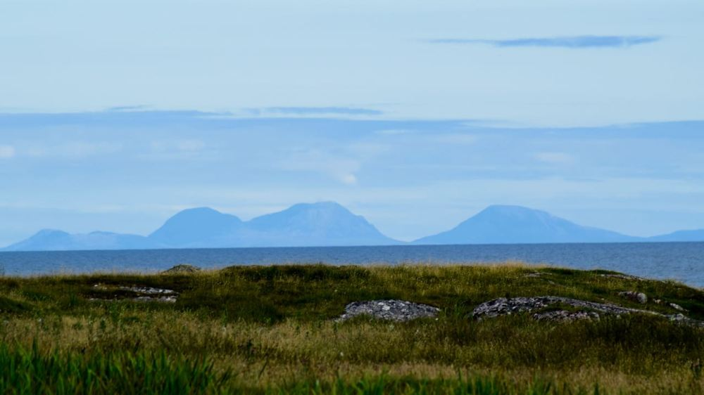 The Paps of Jura From Scarinish
