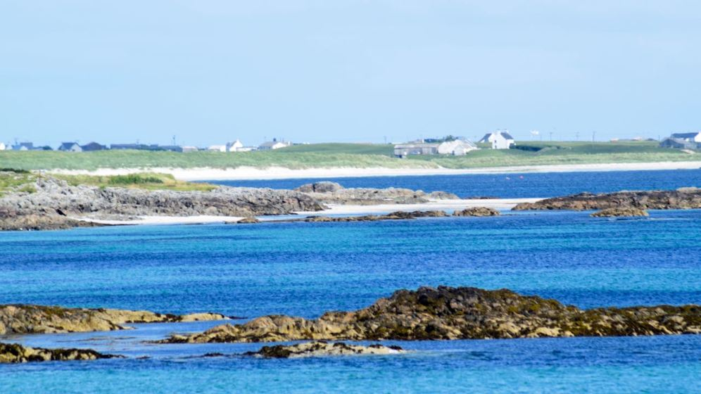 The view east from Hynish