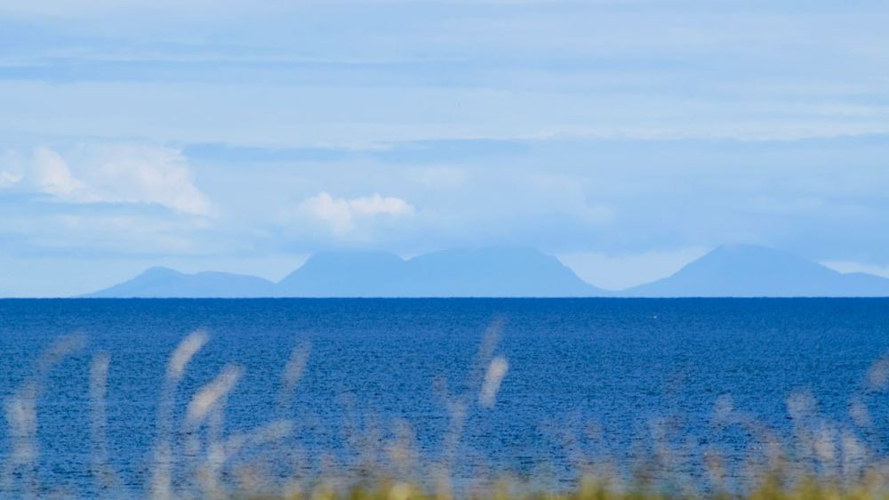 The Paps of Jura as seen from Baugh