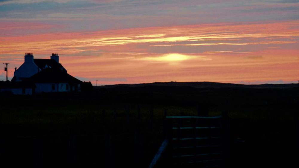 Sunset from Pier Road, Scarinish