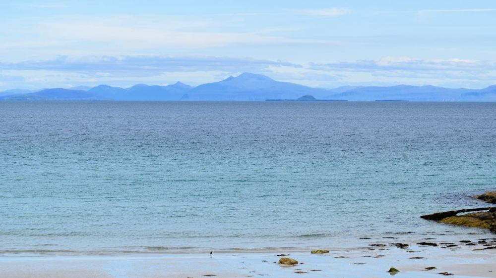 Looking across to Mull from one of Scarinish's beaches