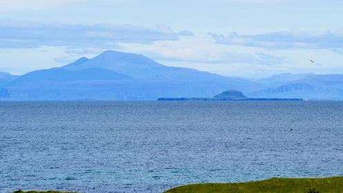 Mull and the Dutchman's Cap from Scarinish