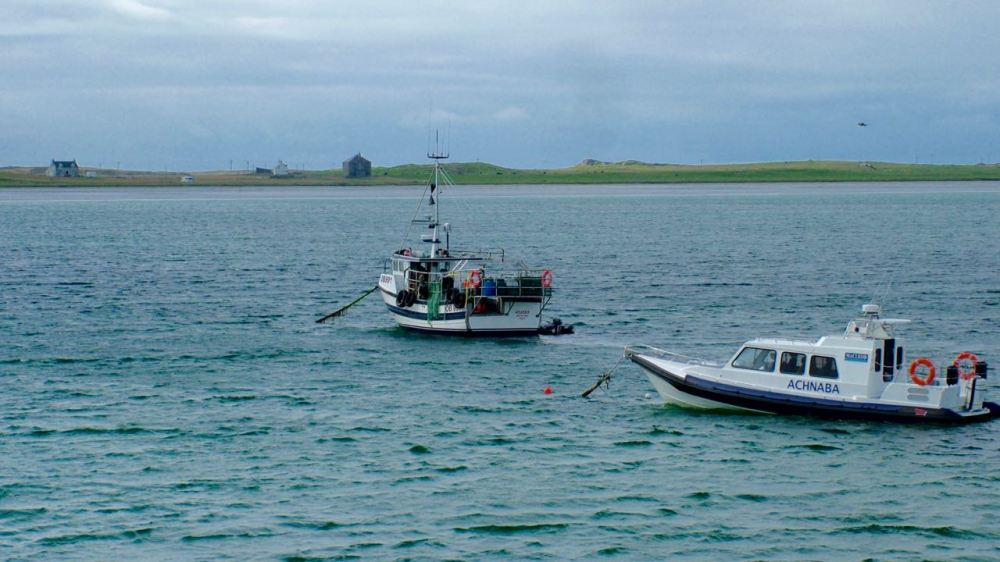 When one vessel comes in another departs for Coll, Craignure and onwards to Oban