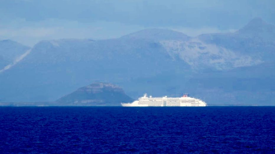 MS Europa 2 in the Passage of Tiree - photo used with copyright holder's permission