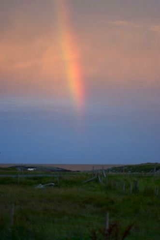 Rainbow over the Passage of Tiree