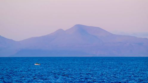 A small craft and the great Munro