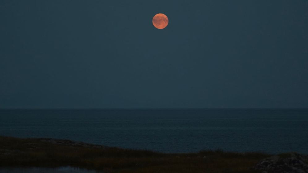 Full Moon over the Passage of Tiree