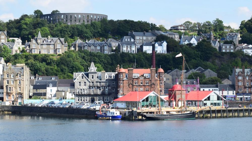 North Pier and Oban Landmarks
