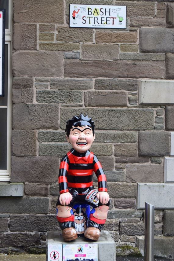 Wullie The Menace in Bash Street