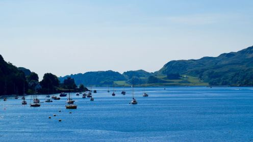 Looking towards the Sound of Kerrera