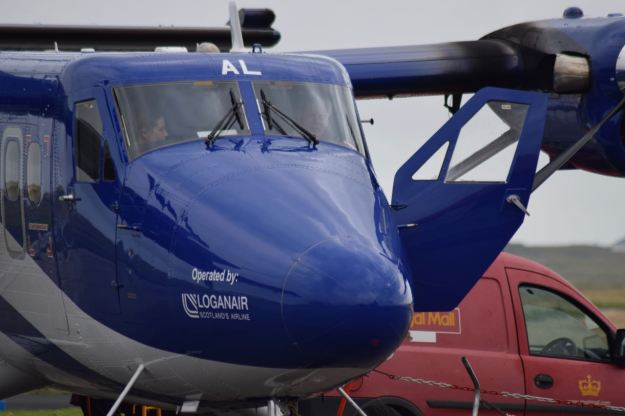The Loganair Twin Otter