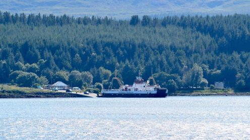 MV Loch Fyne at Fishnish