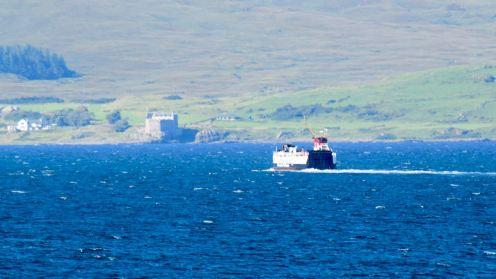MV Loch Linnie bound for Kilchoan
