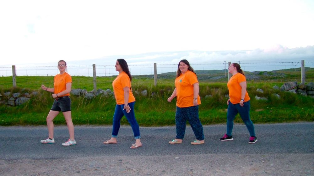 The Team Stepping Out on Tiree