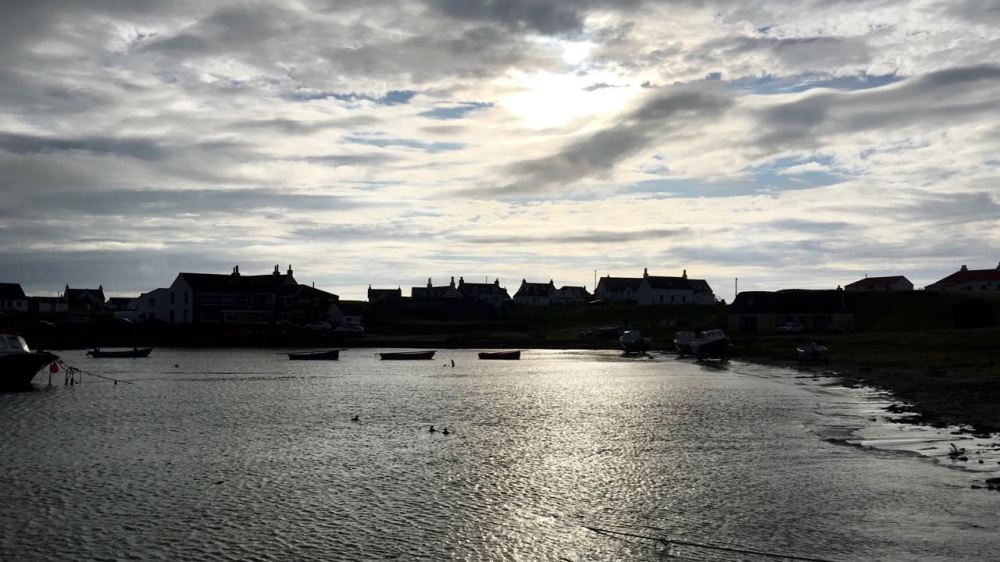 Wednesday's Hide Tide Scarinish Old Harbour