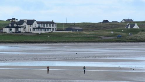 The Lodge Hotel, Gott Bay - the Big Beach
