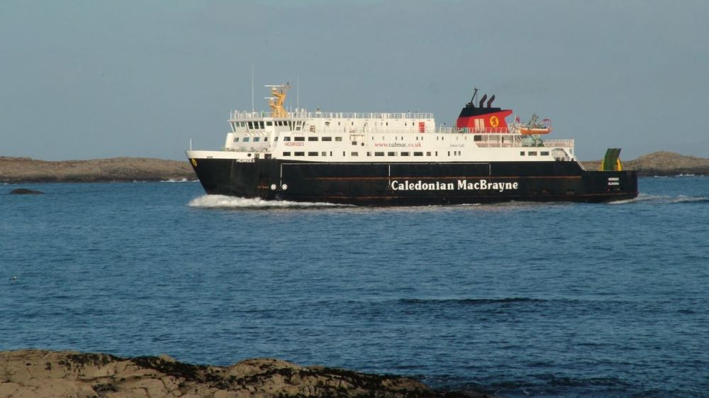 The MV Hebrides