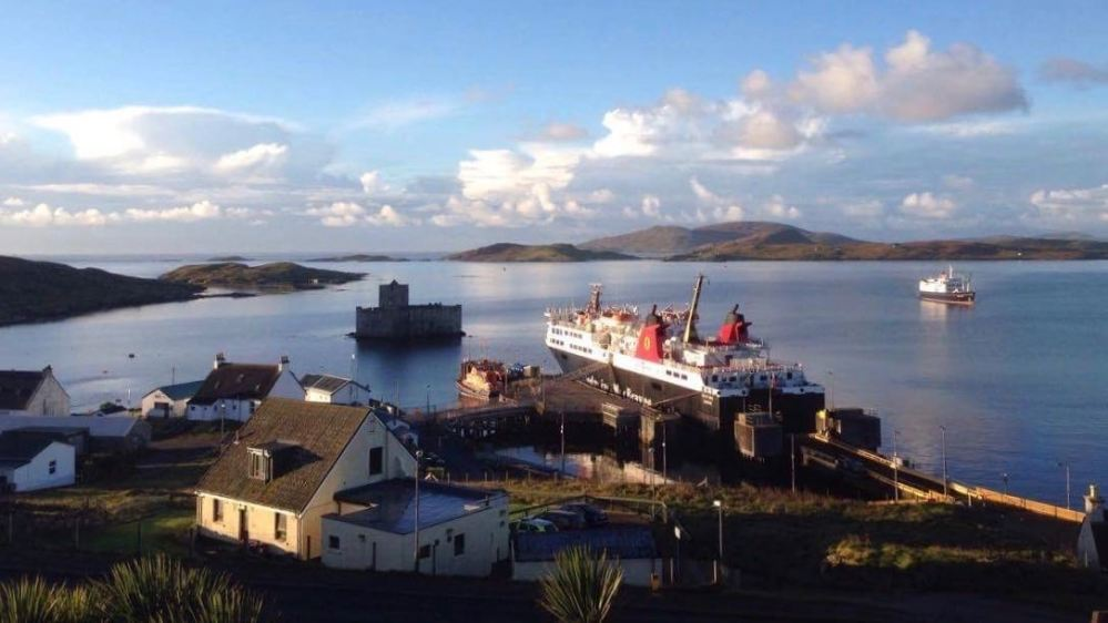 The MV Isle of Lewis and a Hebridean princess
