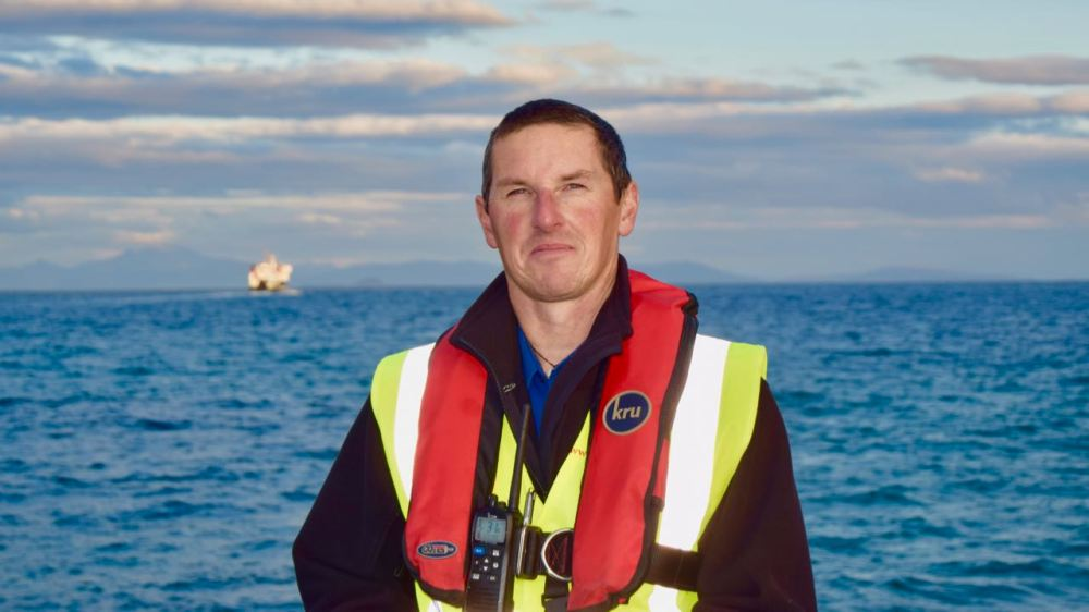 Tiree's New Pier Master - Steve Nagy