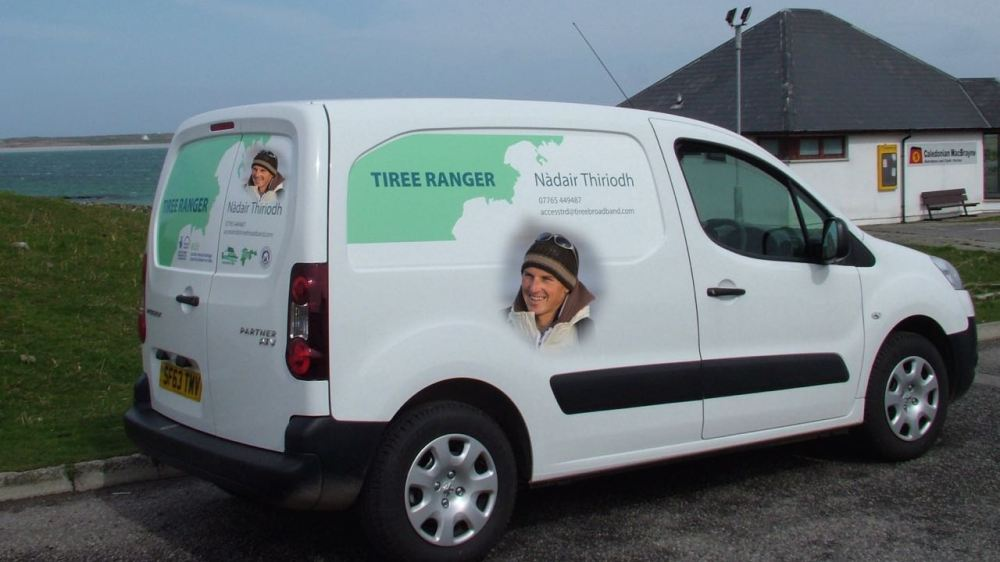 The Man and his Van
