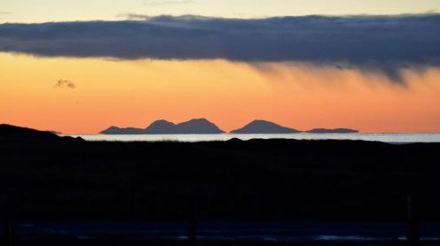 The Paps of Jura at dawn