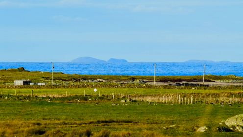 Distant Outer Hebrides from Kenovay